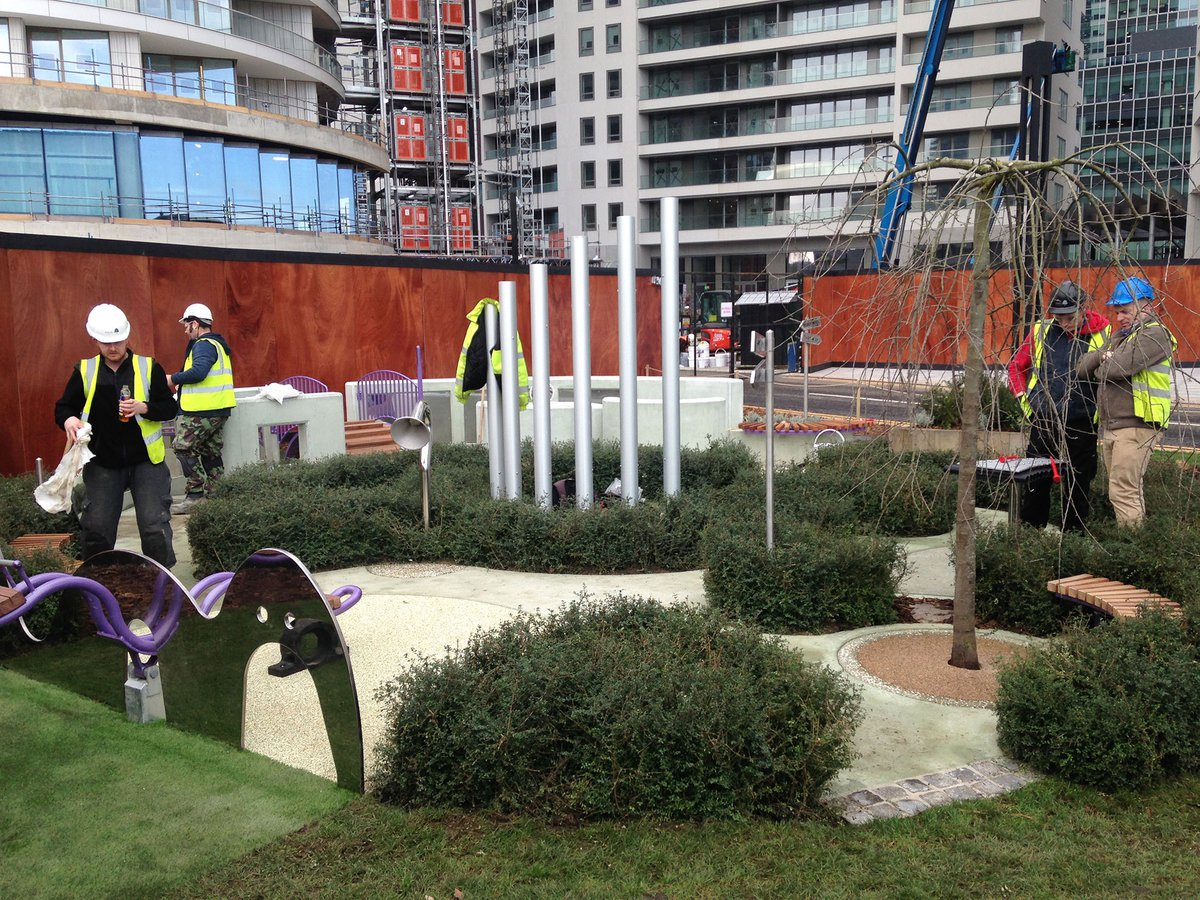 Wood Wharf Play Spaces